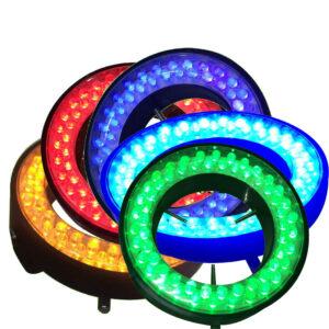 color lightness microscope light