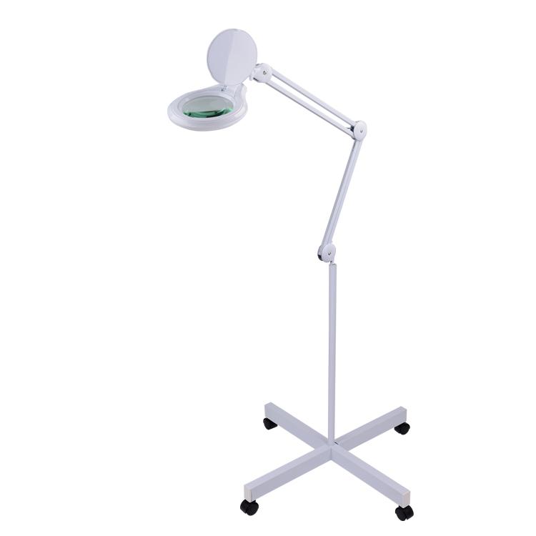 5inch Lens Magnifying Lamp Floor Stand Base Led Magnifier