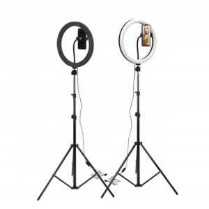 SELFIE RING LIGHT TRIPOD STAND foldable