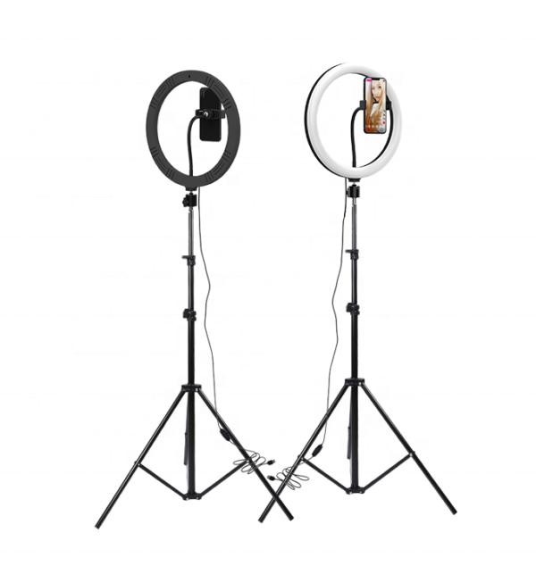 SELFIE RING LIGHT TRIPOD STAND foldable