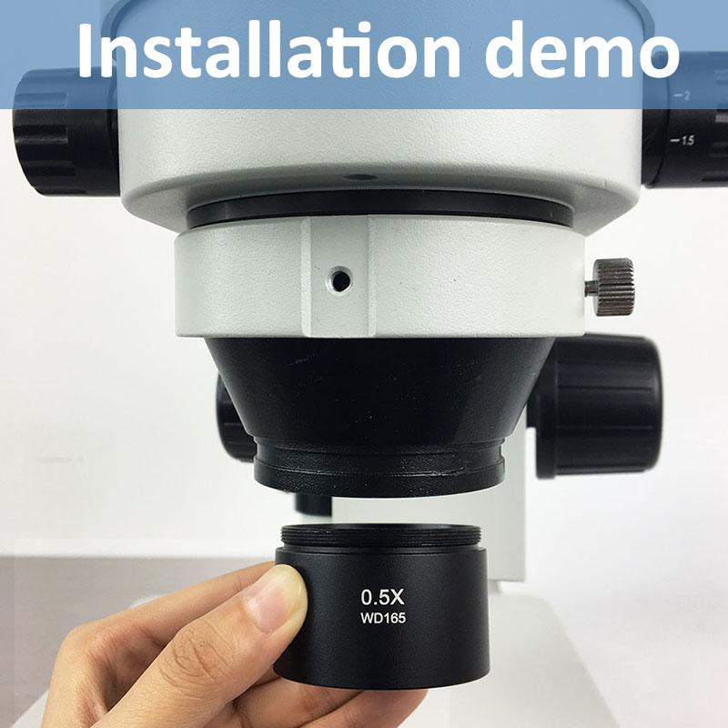 Barlow Lens installation