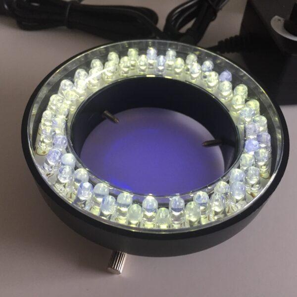 365nm UV ultraviolet microscope light LED RING LIGHT