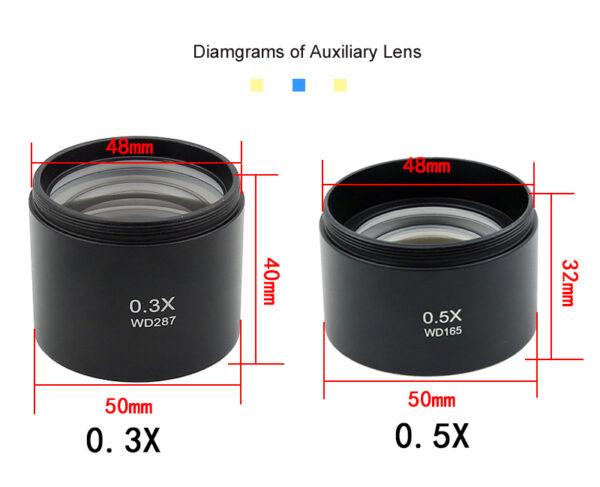 Barlow Lens 0.3X 0.5X